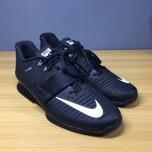 Nike Romaleos 3 Black White 852933-002, 13 M